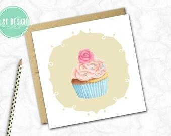 Cupcake Dreams Mini Card