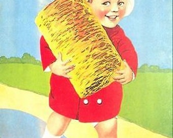 Vintage Shredded Wheat Advertising Poster A3 Print
