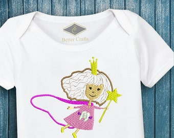 50% OFF Princess | Machine Embroidery Applique Design 4 Sizes
