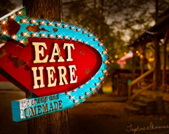 lighted eat marquee sign marquee signs marquee letters eat sign marquee light - Lighted Marquee Letters