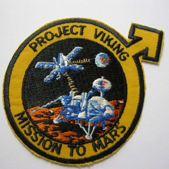 NASA Project Viking Mission to Mars patch.