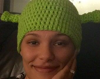 Shrek hat ogre beanie shrek hat gingy donkey
