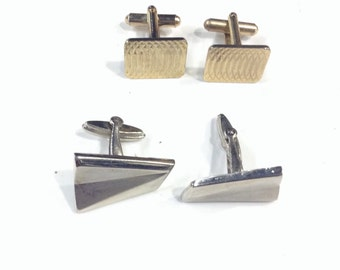 2 pairs of costume cufflinks