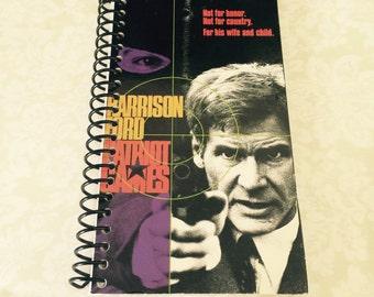 Patriot Games VHS Notebook - 90 Sheets - Free Shipping