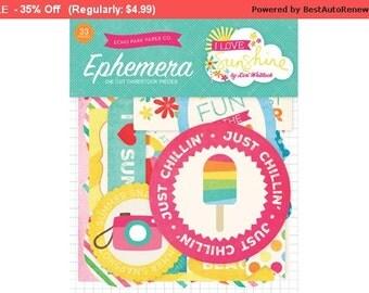 I Love Sunshine Ephemera pack