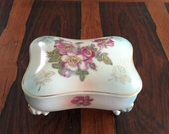 Decorating Ceramic Floral Box