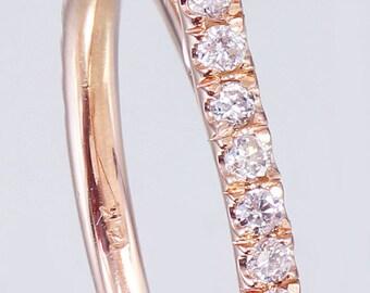 14k White Rose Gold Cushion Cut Diamond Engagement Ring 1.60ctw H-VS2 GIA