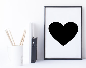 Quote Print and/or Frame - Symbol '(Heart)'