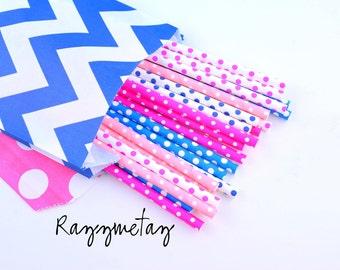 Razzmetazz *Paper Straws -Pink Straws -Hot Pink Straws -Blue Straws *Bubblegum Pink *Pink Polkadots -Polkadot straws *Gender Reveal Party