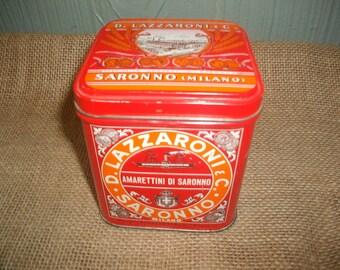 D. Lazzaroni & Co. Biscotti Tin