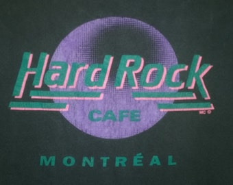 Vintage Hard Rock Cafe Tee Montreal 90s