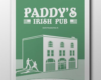 Paddy's Pub Screen Printed Poster 18x24