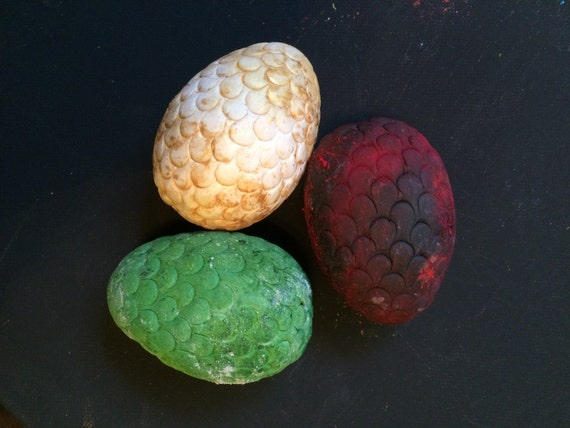 Dragon Eggs Cake Topper Game of Thrones by LuluAndBumble ...