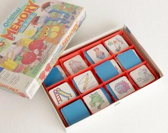 Vintage 1990 Milton Bradley Memory Game