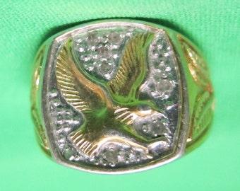 Fraternal Order ofl Eagles Ring - Size 10