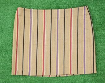 Gorgeous Vertical Striped Mini Skirt Mod