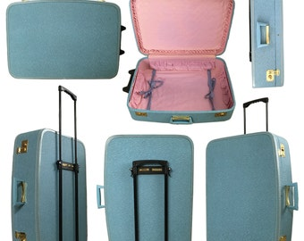 Vintage Rolling Luggage – Etsy DK