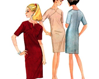 McCall's Sewing Pattern 8458 Misses Dress  Size:  14  Uncut