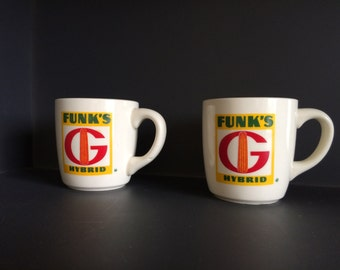 Funk's Hybrid Coffee or Tea Cups - Set of Two