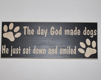 Dog paw sign