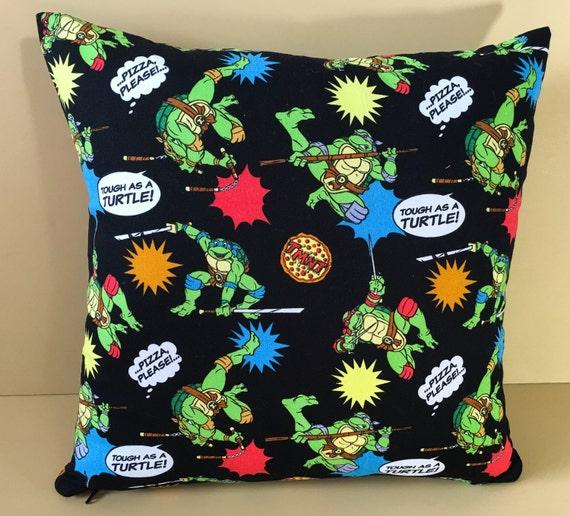 Items similar to Toss Pillow Teenage Mutant Ninja Turtles - TMNT Decorative Plush Pillow Ninja ...