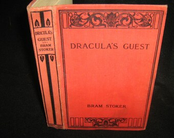 Draculas Guest and other Weird Stories Bram Stoker 1914