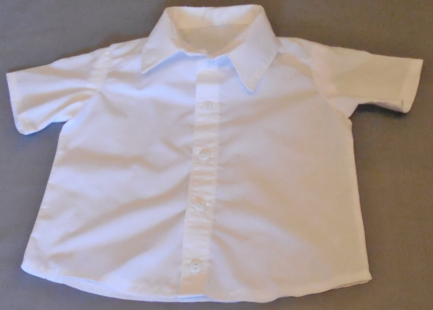 Baby Boy 39 S White Button Down Short Sleeve Dress Shirt
