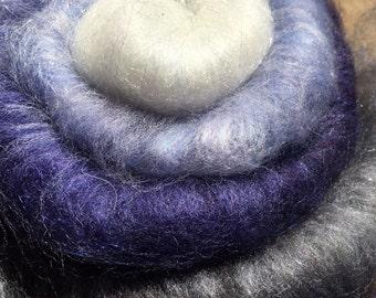 Moonstone fiber batt