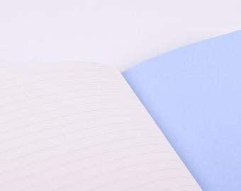 Notebook : Sky Blue Raining Cloud (lined Pages)