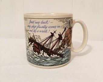 American Greetings Novelty Mug