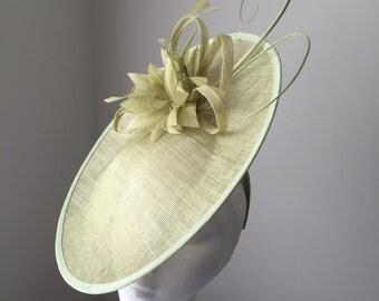 Sage Green Disc Hat