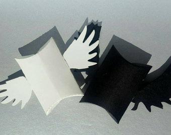 Set ange ou demon-2 mini pillow boxes |