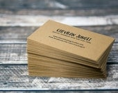 72 Business Cards - Custom Business Cards - Personalized Business Cards - Mommy Calling Cards - Social Media Cards - SH009006