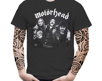 Motorhead Vintage Retro Graphic English Heavy Metal Hard Rock Music Band Men Tee Top T-Shirt