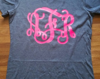Monogrammed Woment T shirt
