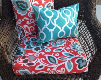 Replacement Outdoor Furniture Cushion Covers, Outdoor Pillow Covers,  Replacement Seat Covers, Replacement Outdoor