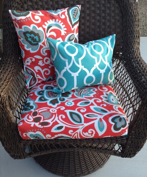 Coastal Colors Outdoor patio furniture cushion covers outdoor