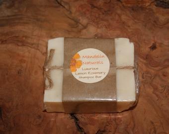 Luxurious Lemon Rosemary Shampoo Bar