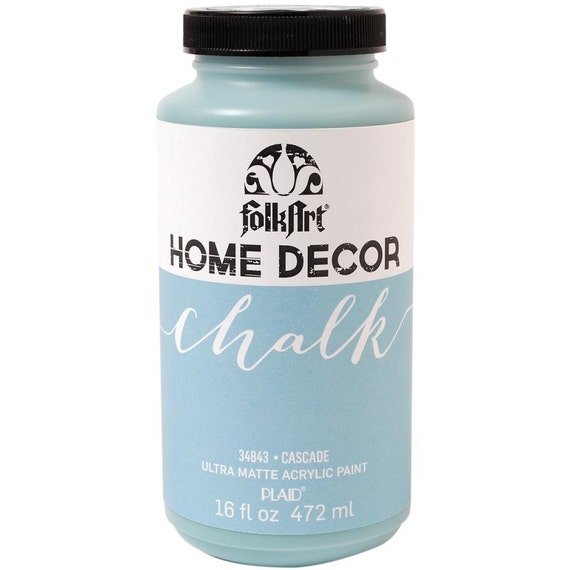 Plaid Folk Art Home Decor Chalk Paint in Cascade