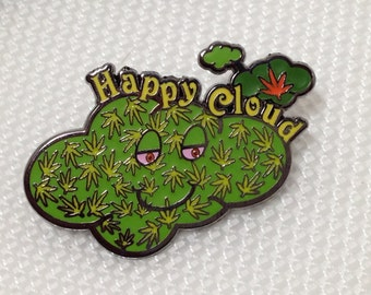 Free Shipping!! Happy Cloud Green V1 Limited Edition Hat Pin