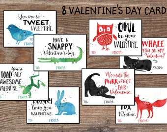 Kids Valentine cards Sports Valentines Day boys