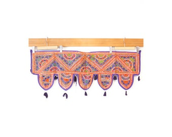 Indian mirror work tapestry (0004) Wall Hanging Tapestry Ethnic tapestry Mirror work India Indian mirror work wall hanging