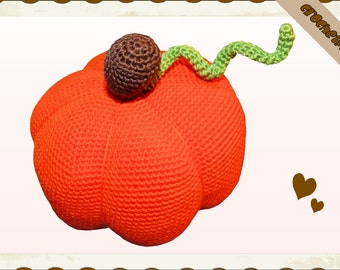 Crochet Pattern (005): Pumpkin