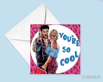 True Romance greetings card