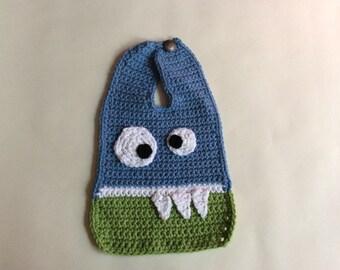 Crochet Monster Bib