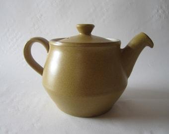 1960s Denby Stoneware teapot 'Ode'
