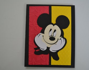 Mickey Mouse Birthday Card - Kids - Perfect for Boy's or Girl's Birthday