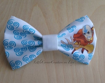 Adjustable bow tie. Avatar The Last Airbender. Girls Hair bow