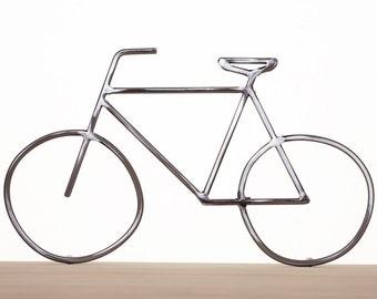 Metal Bike Art, Bike Sculpture, Metal Bicycle, Metal Wall Art, Bicycle Art, Welded Bike, Bicycle Decor, Bike Lover, Handmade Bicycle Art