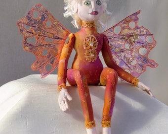 Fairy/Elf Handmade Cloth Doll